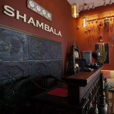 RECEPTION SHAMBALA MASSAGE SALON
